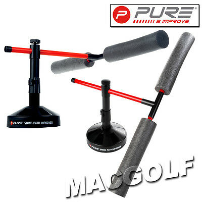 "Pure2improve Golf Trainingshilfe ""Swing Path Improver"" Kostenloser Blitzversand"