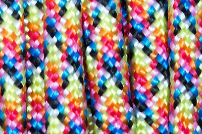 30 Meter Paracord 550 Type III 4mm Bright Rainbow