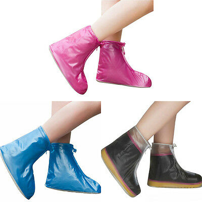 New Rain Shoe Covers Waterproof Protective Overshoes Boot Gear Fashion
