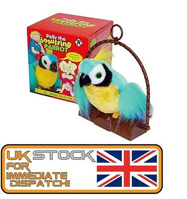 Polly The Insulting Parrot Bird - Motion Activated Offensive Adult Talking