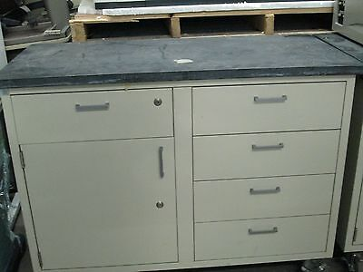 Lab six drawer steel cabinets