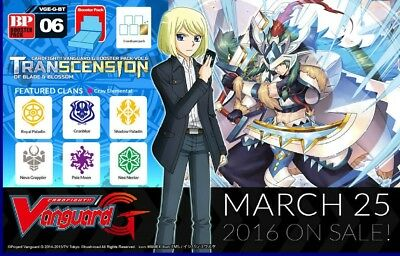 Cardfight!! Vanguard G-BT06 Neo Nectar common set (4 of each card)