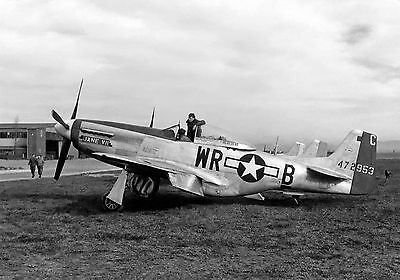 United States Air Force USAF P-51D Mustang Military Aircraft WW2 Photo 9