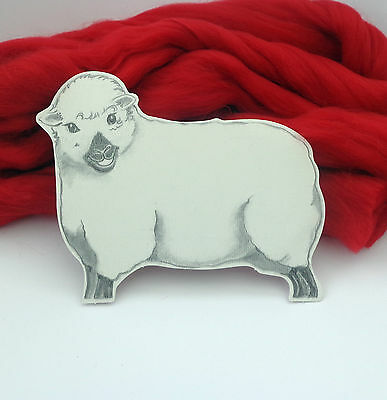 RED MERINO (Scarlet) Dyed wool tops / roving / needle felting wool / fibre 50g