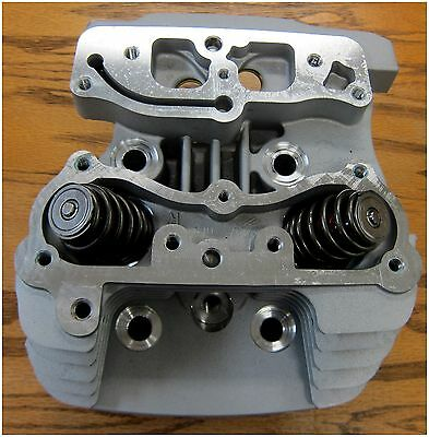 Harley Davidson Used Rear Cylinder Head Silver Finish 1999-up Most Models.