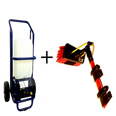 Impressor 25L Wfp Trolley & 25 ft Acqua Alimentato Pole Set - Pulizia Finestra