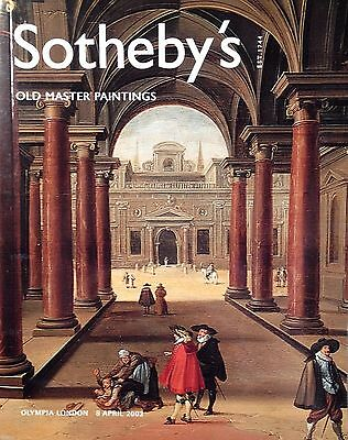 OLD MASTER PAINTINGS DRAWINGS OIL PAINTING ART ANTIQUE Sothebys Catalog 4 / 2003