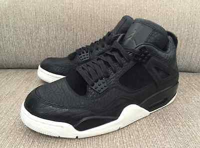 536cfc9cc2b Nike Air Jordan 4 IV Retro Premium Black Pony Pinnacle 4 11 XI oreo 819139-