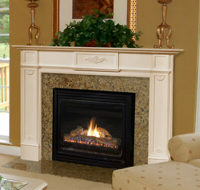 Pearl Mantels The Monticello 56 530-56 Fireplace Mantel NEW