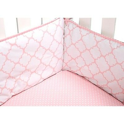 Trend Lab 100794 Pink Sky Crib Bumpers NEW