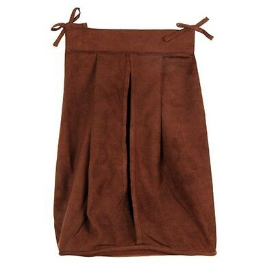 Trend Lab 101492 Brown Suede Diaper Stacker NEW