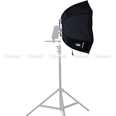 46cm Foldable Speedlite Flash Softbox Diffuser Reflector for Studio Light Stand