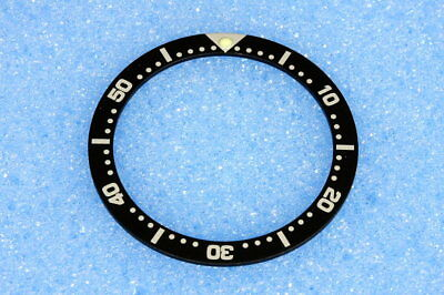Seiko unisex divers black bezel insert for 4205 with 38mm case