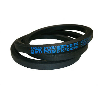 D/&D PowerDrive 3//8V1400 Banded V Belt Rubber 3 Number of Band