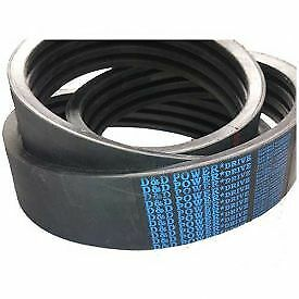 D&D PowerDrive B102/02 Banded Belt  21/32 x 105in OC  2 Band