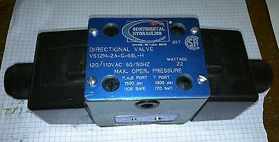 Continental Hydraulic Solenoid Valve Vs12M-2A-G-86L-H Directional Valve