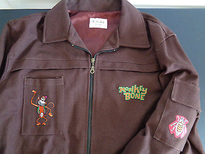 MONKEYBONE Cast PROMO CREW Movie Jacket MEDIUM Embroidered BRENDAN FRASER