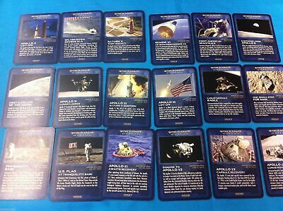 Modern Space History Collector Card  - 44 photos cards from  Russia & US new!!