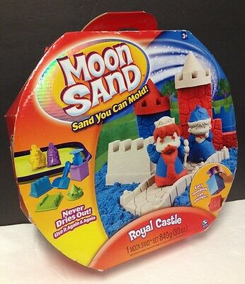 """Moon Sand """"Royal Castle"""" Set NEW Old Stock RARE Out Of Production 2009"""