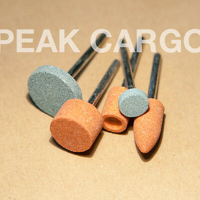NEW 5in1 Set Mounted Sharpening Grinding Stone #(85602, 85422, 8193, 952, 932)