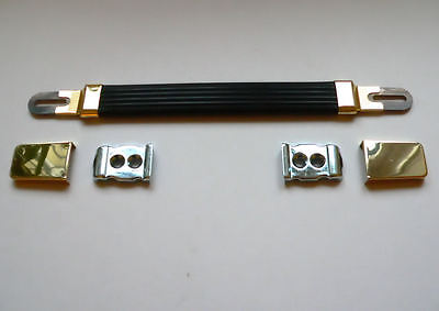 Gold Guitar Amplifier Strap / Handle for Marshall Plexi amp cabinets