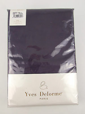 Yves Delorme - Triomphe Encre Fitted Sheet Egyptian Cotton 300Tc >75% Off Rrp -X