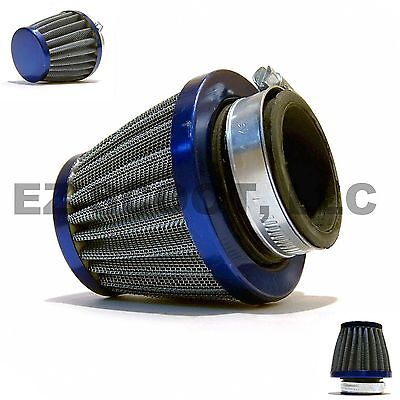 PERFORMANCE RACING AIR FILTER BLUE 38-40mm GY6 4STROKE SCOOTER TAOTAO TANK VENTO