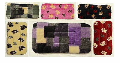 Soft Fleece washable Small Dog Bed Puppy Cat Kennel Cage Pad Bed Cushion Mat