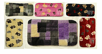 Small Luxury Fleece washable Dog Bed Puppy Cat Kennel Cage Pad Bed Cushion Mat