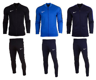 Nike Academy 16 Mens Full Tracksuit Zip Jacket Bottoms Pants Football Training