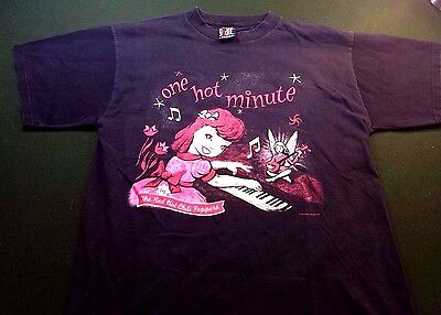 1995 Red Hot Chili Peppers World Tour Concert T Shirt Xl One Hot Minute ~  Xl