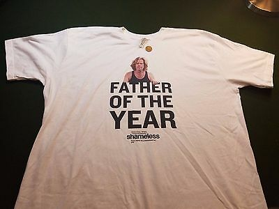 Shameless T Shirt XL Father Of The Year Official Merchandise