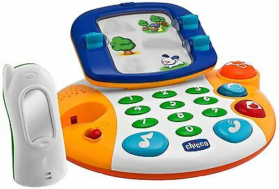 Chicco Bilingual Talking Video Phone English and German Speaking