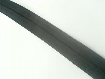 """WHOLESALE 100 /10 yards black   fold over foe 3/4"""" Great for hair tie"""