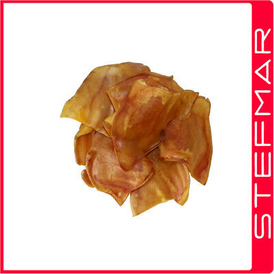 STF Dried Pigs Ears 12Pk LARGE (10-14cm) NATURAL