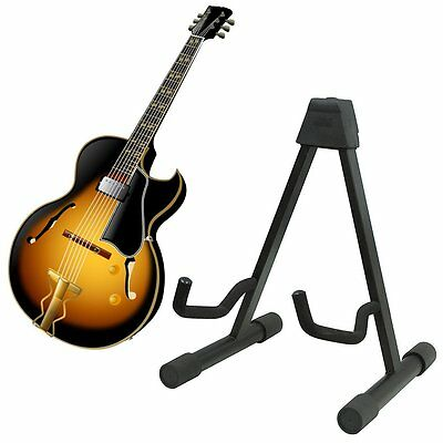 High Quality Musician's Gear A-Frame Acoustic Guitar Stand Black 2016 New