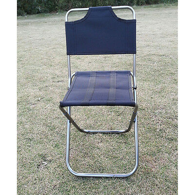 Mini Portable Folding Oxford Aluminum Chair Stool Seat for Camping Fishing HPY