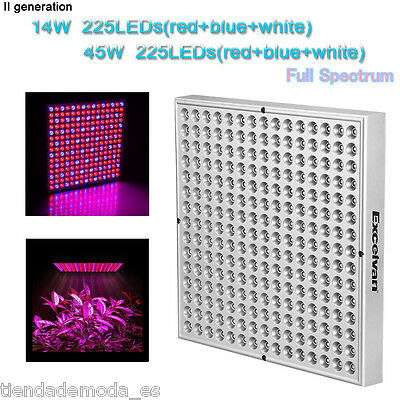 Red Blue Lamp 14W/45W 225LED Hydroponic Plant Grow Light Panel For Indoor Garden