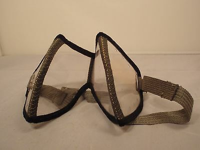 Swedish WW2  army foldable motor  dust protection glasses Sweden Lightweight