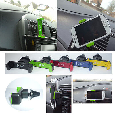 Universal Mobile Phone 360° Rotating Car Air Vent Mount Holder Stand Cradle