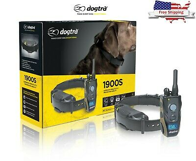 Dogtra 1900S Remote Dog Training Collar 3/4 Mile High Power Trainer