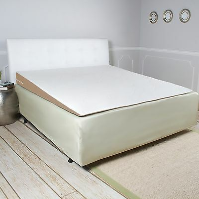 Avana Inclined Memory Foam Mattress Topper Wedge with Bamboo Cover