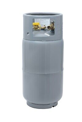 Forklift Propane Tank Cylinder LP 33.5 lbs with Gauge and Fill Valve Steel New