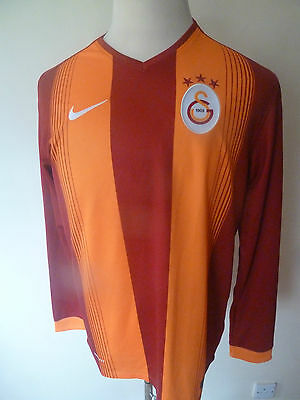 mens GALATASARY long sleeved shirt - size L good condition
