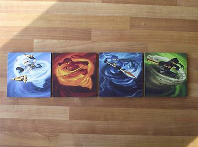 Lego Ninjago Characters Canvas Wall Art Plaques/pictures - Free Post