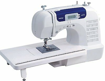 Sewing Machine Househole Electric Stitch Sew Table Brother Crafting Mechanical