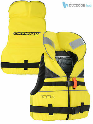 Osprey 100N Junior Lifejacket Childrens Life Vest Aid PFD Kids Kayak Sail Yellow
