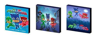 Pj Masks Canvas Wall Art Plaques/pictures
