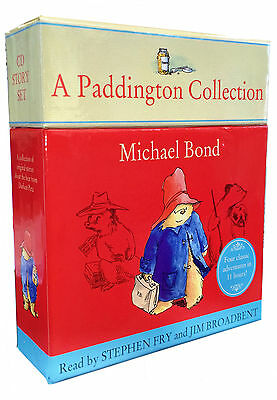 Paddington Bear Classic 10 Audio CD Collection Box Children Gift Set Pack