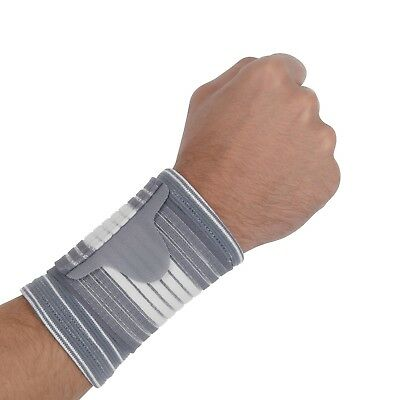 Bionix Elasticated Hand Wrist Support Compression Brace Bandage Adjustable Strap